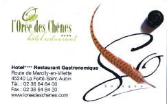"""""""L'Orée des Chênes"""", dans """"Nos partenaires"""" sur TaxiFun.fr"""