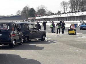 TaxiFun sortie du circuit de Linas- Montlhéry