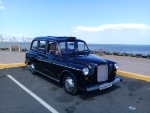 Un taxi anglais Fairway au Panama taxis of the world taxifun actu