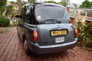 taxi anglais Panama London taxi Cab