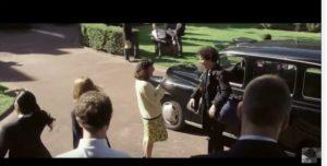 Guillaume Galliène cinéma Guillaume et les garçons, à table! tournage black cab taxifun TaxiFun locatio taxi anglais noir pour le cinema scène happy follow me beautiful