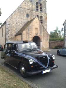 TaxiFun- Location de voiture de mariage taxi anglais avec chauffeur