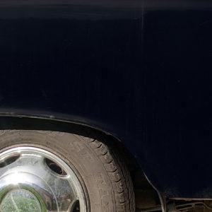 carrosserie aile arrière noire taxi anglais