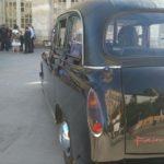 Mariage taxi anglais noir black cab voiture de mariage avec chauffeur Blois Centre Val-de-Loire
