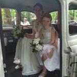 taxi anglais blanc avec chauffeur white wedding cab location taxi anglais avec chauffeur