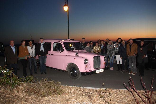 TaxiFun Evénements d'entreprise Image groupe Caramel Pamplemousse