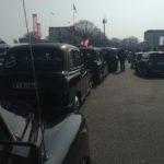 Top départ des taxis anglais pour la parade