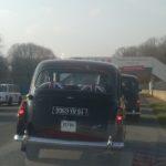 Taxis anglais sur la piste de Linas- Montlhéry
