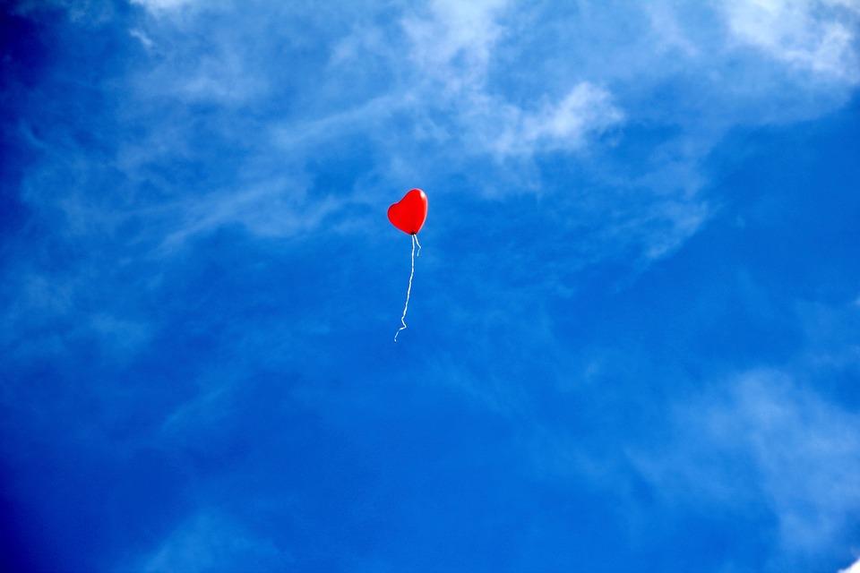Le beau mot de TaxiFun Amour Ballon blue sky