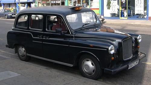 Petite histoire du taxi anglais C'est quoi la marque?
