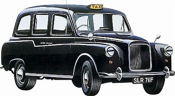 TaxiFun Petite Histoire du taxi anglais - Le FX4 (1958- 1997) taxi anglais black cab cab anglais london taxi moteur taxi anglais black cab fairway fairway driver austin rover perkins carbodies taxifun spécialiste du taxi anglais en france