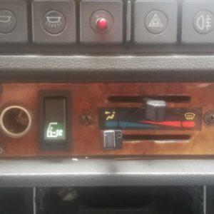 TaxiFun-Pièces détachées taxi anglais-Platine en bois de commande de chauffage 1989-1997