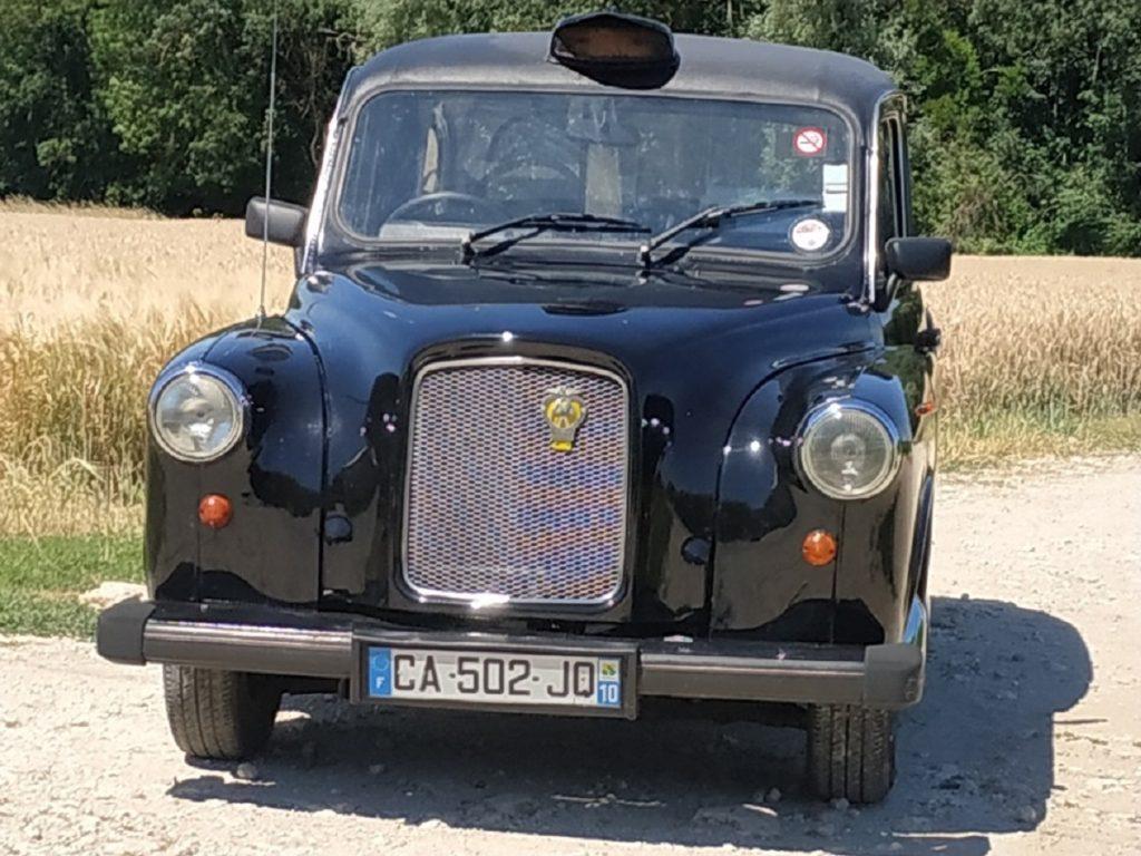 TaxiFun vente de taxis anglais en carte grise française Fairway Noir