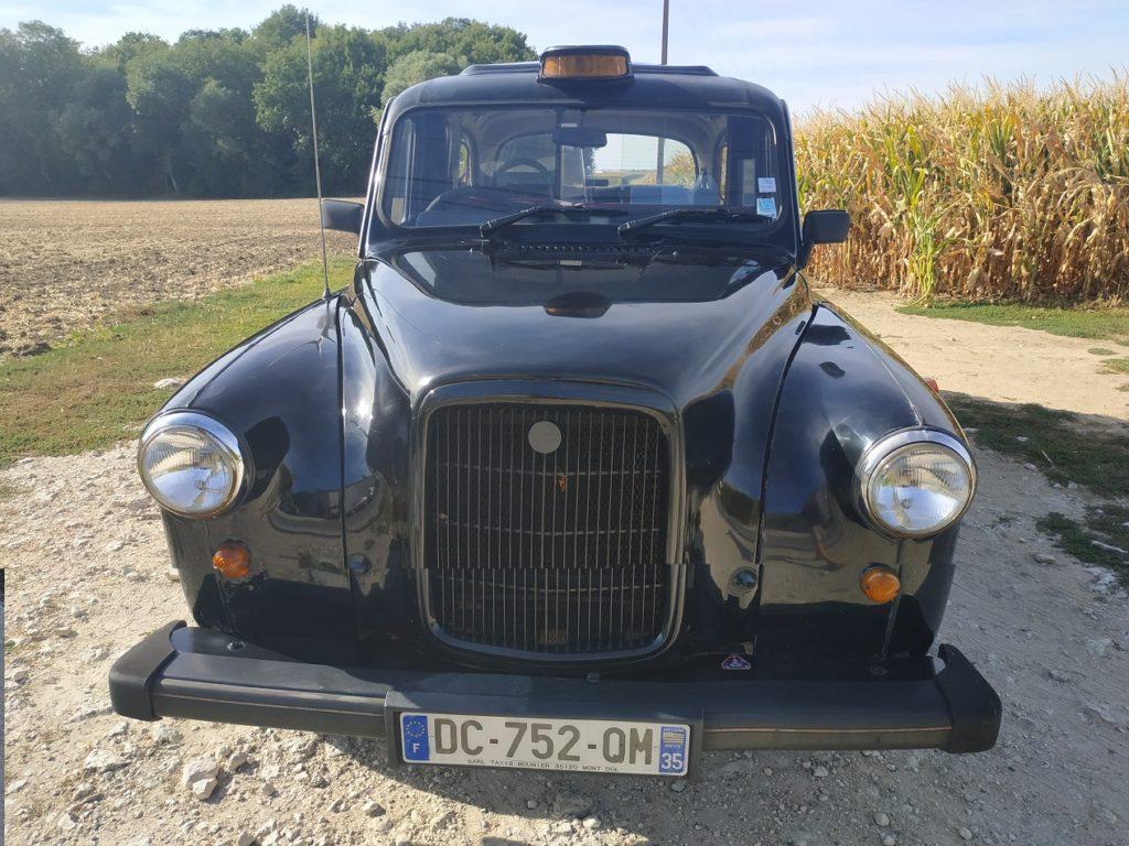TaxiFun Vente de taxi anglais en carte grise française