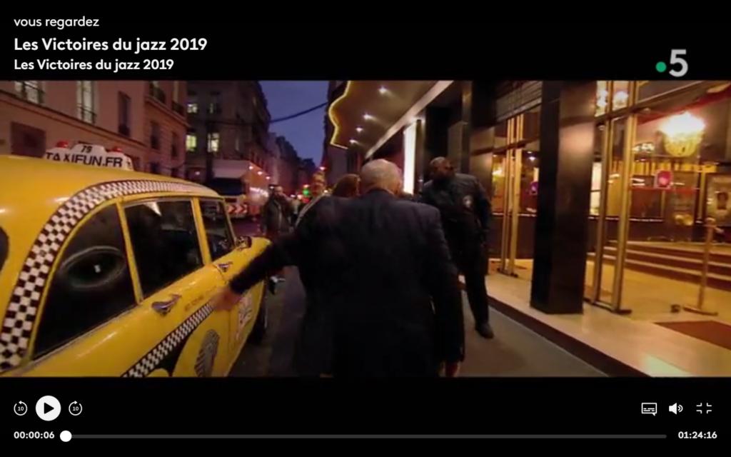 TaxiFun Yellow Cab Victoires du Jazz 2019 Casino de Paris Michel Jonasz