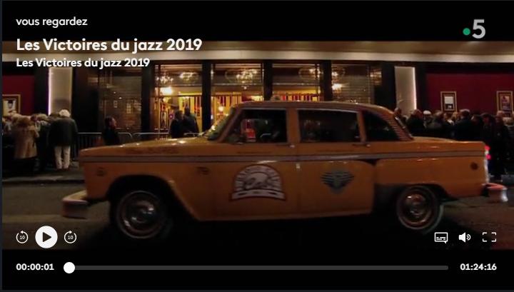 TaxiFun Yellow Cab Victoires du Jazz 2019 Casino de Paris Michel Jonasz evenement jazz musique new york musichall awards festival