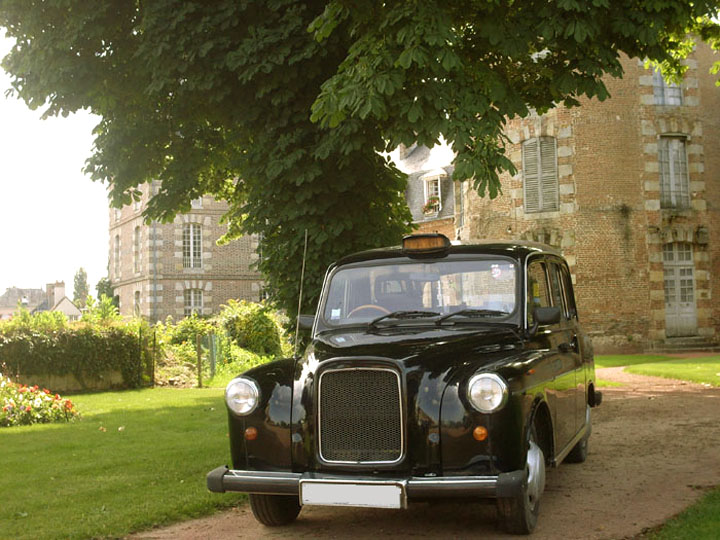 taxi anglais black cab location chauffeur mariage evenement