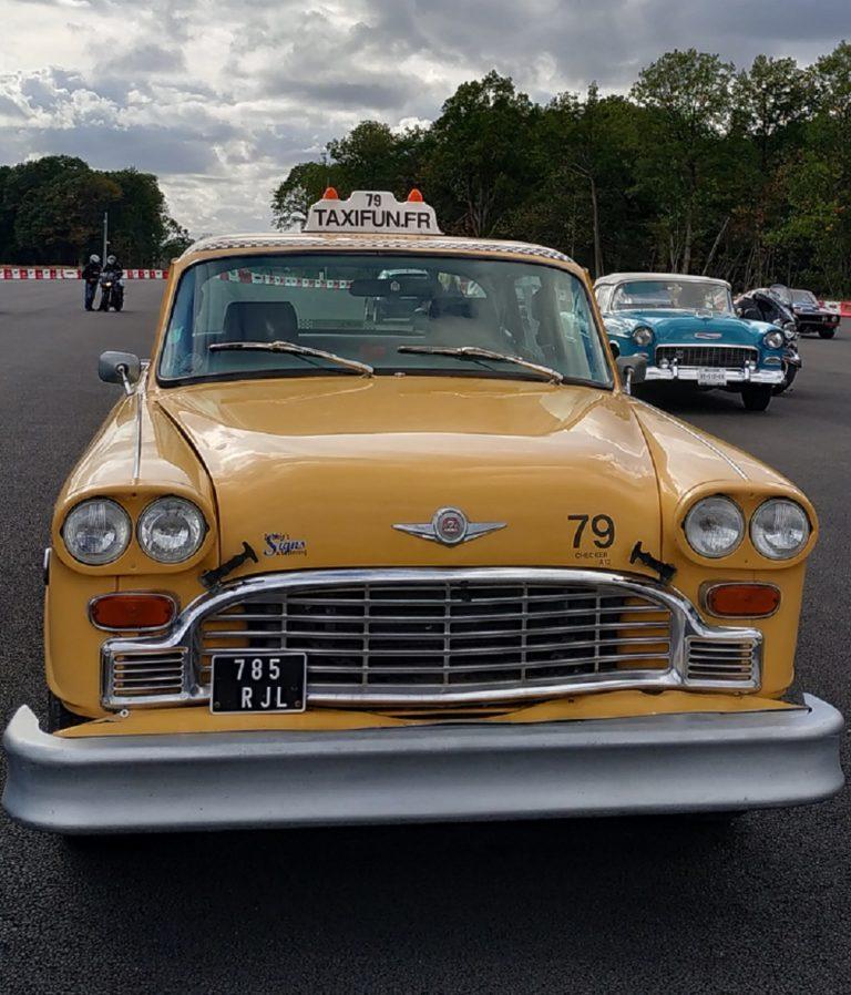Location taxi New-Yorkais Yellow Cab événement