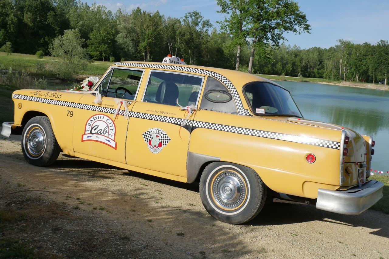 taxi new-yorkais checker marathon yellow cab