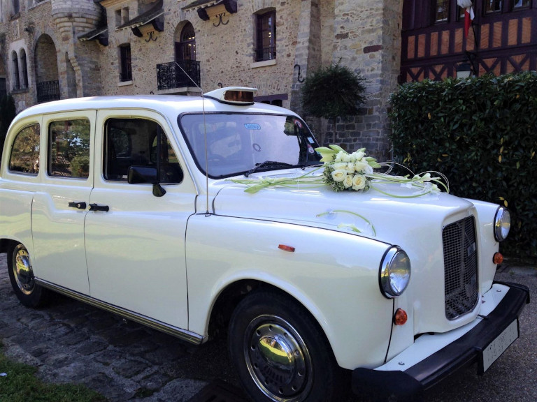 taxi anglais blanc old english white