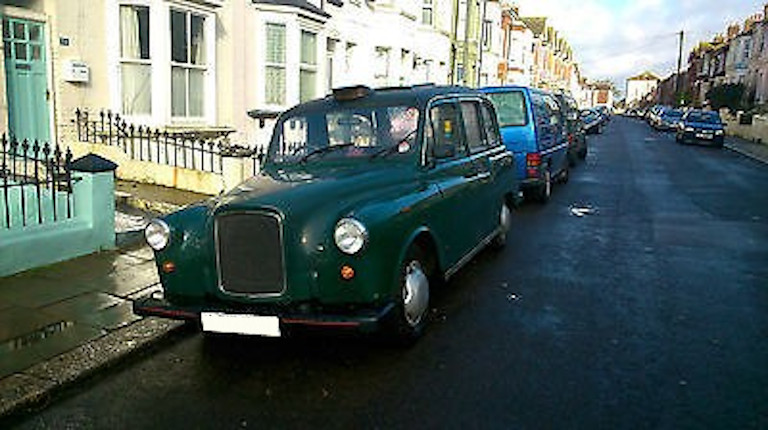 taxi anglais sherwood green
