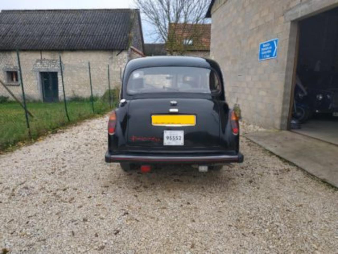 vente taxi anglais fairway en carte grise française