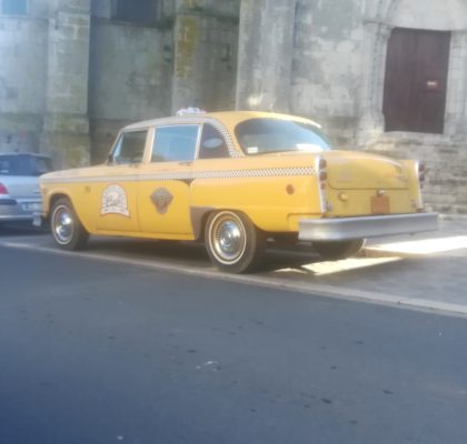 taxi new yorkais yellow cab avec chauffeur voiture de mariage wedding mariage evenement